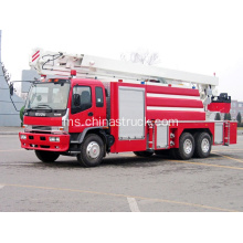 ISUZU Water Tower Hydraulic Boom Fire Truck (JP25)